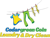 Cedargreen Coin Laundry Logo